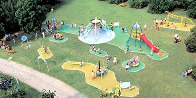 Area giochi Modena - Parco Ferrari