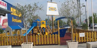 Sarba referenze aree gioco for Ikea firenze
