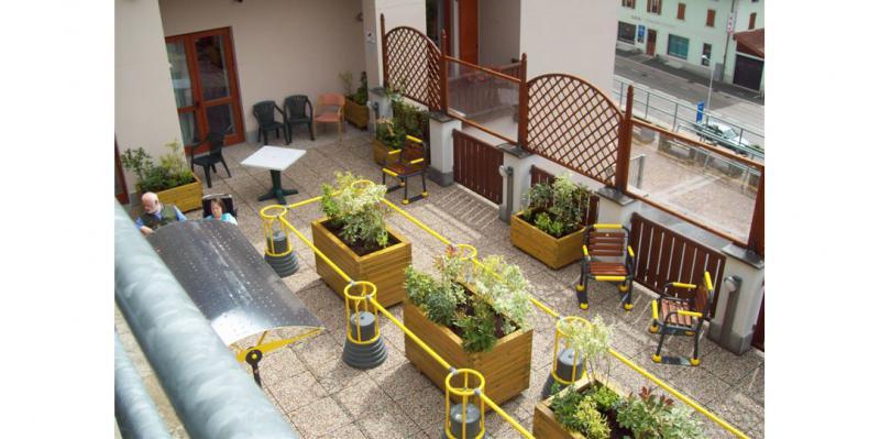 Sarba - Referenze - Giardini terapeutici